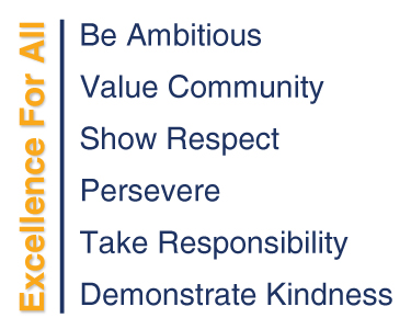 Core Values Excellence for All